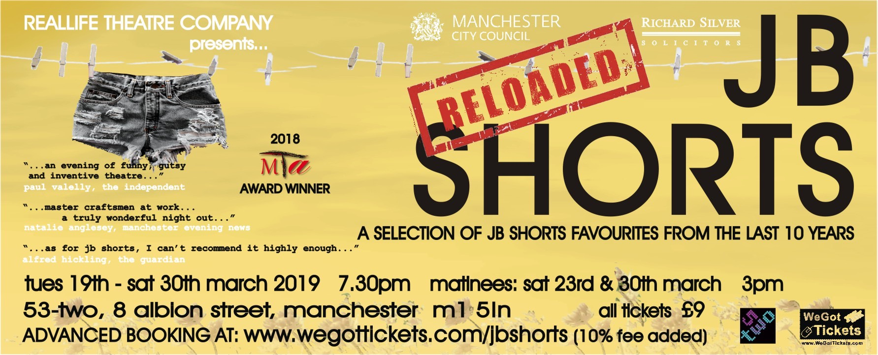 JB Shorts Reloaded Poster